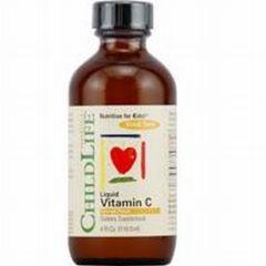 Liquid Vitamin C - Natural Orange 4 fl oz Liquid