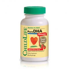 Child Life Pure DHA Soft Gel Capsules, 90-Count