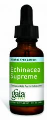 Gaia Herbs Echinacea Supreme, Alcohol-Free, 1-Ounce Bottle (Pack of 2)