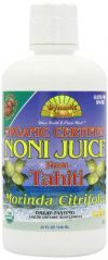 Dynamic Health Liquid Dietary Supplement, Noni Juice, Raspberry, 32 Ounces (Pack of 2)