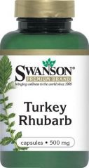 Turkey Rhubarb 500 mg 100 Caps