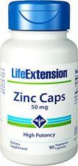 Life Extension Zinc Caps 50 Mg High Potency 90 veg capsules