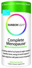 Rainbow Light Complete Menopause Multivitamin, 500mg Calcium, 1000 IU Vitamin D, 60 Tablets