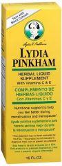 2-PAK Lydia Pinkham Nutritional Support Liquid 16oz bottles