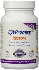 EyePromise Restore Supplement - Complete Macular Health Formula with Zeaxanthin & Lutein for Ocular Nutrition