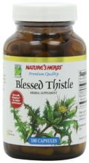 "Twinlab Nature""s Herbs Blessed Thistle, 100 Capsules (Pack of 4)"