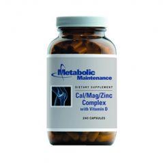 Metabolic Maintenance - Cal/Mag/Zinc Complex w/Vitamin D 240caps