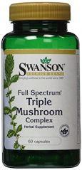 Full Spectrum Triple Mushroom Complex 60 Caps