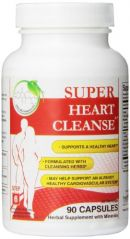Health Plus Heart Cleanse Capsules, 90 Count