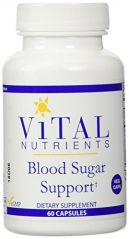 Vital Nutrients Blood Sugar Support V-Capsules, 60 Count