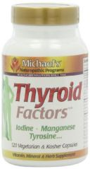 "Michael""s Naturopathic Programs Thyroid Factors Nutritional Supplements, 120 Count"