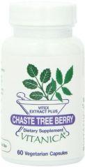 Vitanica Chaste Tree Berry, 60 Vegetarian Capsules