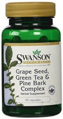 Swanson - Premium Grapeseed, Green Tea & Pine Bark Complex (60 Capsules)