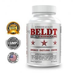 Best Fat Burner - BELDT: Force Thermogenic - Elite Weight Loss Supplement for Enhanced Energy, Metabolism, Focus, Mood