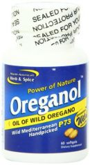 North American Herb and Spice, Oreganol P73 Gel-Capsules, 60-Count