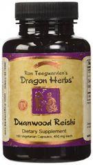 Dragon Herbs Duanwood Reishi -- 450 mg - 100 Vegetarian Capsules