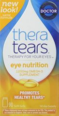 Theratears Nutrition Omega-3 Supplement 90 Capsules (2 Pack)