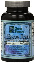Blue Ice Fermented Cod Liver Oil 120 Caps