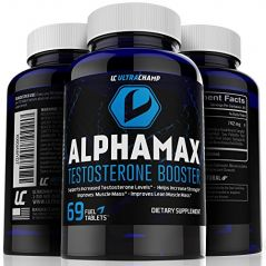 #1 Testosterone Booster Supplement for Men - Sculpt Lean Muscle & Supercharge Sex Drive -
