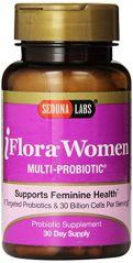 Sedona Labs Iflora Probiotic for Women Capsules, 60-Count