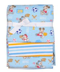 Disney Mickey Mouse 3-Pack Receiving Blankets