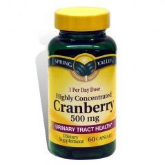 Spring Valley Super Strength Cranberry 500mg 60 Capsules