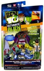 Ben 10 Ultimate Alien Comic and Figures Ben and Vilgax V2, 2-pack 4 Inch
