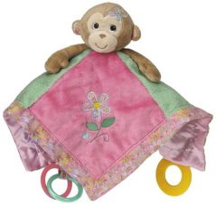 Mary Meyer Maddie Activity Blanket, Monkey