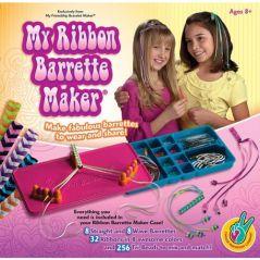 My Ribbon Barrette Maker Kit - Makes 8