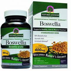 "Nature""s Answer Boswellia Vegetarian Capsules, 90-Count"
