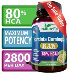 Best Garcinia Cambogia Extract for Weight-Loss :: Raw 80% HCA - 120 Count? LOSE WEIGHT OR YOUR MONEY BACK ? Natural Pure Fruit Extract.
