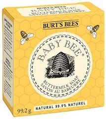 "Burt""s Bees Baby Bee Buttermilk Soap, 3.5oz Bars (Pack of 3)"