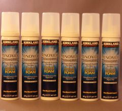 KIRKLAND Minoxidil Topical Aerosol 5% Foam - Hair Regrowth Treatment 6 Months Supply