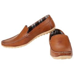 Exotique Men's Tan Casual Loafer