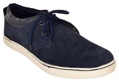 Exotique Men's Blue Casual Shoes (Code-EX0046BL)
