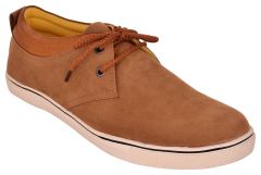 Exotique Men's Tan Casual Shoes (Code-EX0046TN)