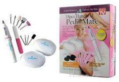 18pcs Handheld Pedi Mate/ Pedi Mate / Pedicure Set /manicure Set/ Callus Remover,for Smooth,beautiful Feet.