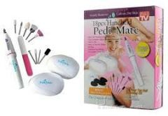 Personal Care & Beauty - 18pcs Handheld Pedi Mate/ Pedi Mate / Pedicure Set /manicure Set/ Callus Remover,for Smooth,beautiful Feet.
