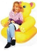 Teddy Shape Inflatable Kids Sofa Chair