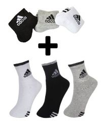 Buy 3 Pair Adidas Socks Get 3 Pair Adidas Socks Free
