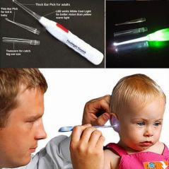(buy 1 Get 1 Free)illuminated Light Flashlight Earpick Cleaner Ear Cleaner Cleaning Ear Pick Ear Wax Remover-01
