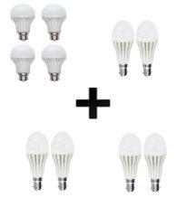 VIZIO COMBO OF 3W LED BULBS(SET OF 2), 5 W LED BULBS(SET OF 2), 7 W LED BULBS(SET OF 2) WITH 12 W LED BULBS(SET OF 4)