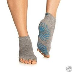 Aeoss Toeless Yoga Socks Matless Grip Yoga Socks