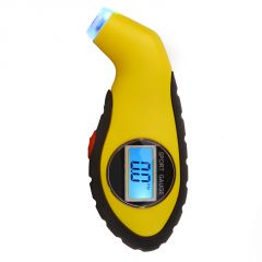 Aeoss Tyre Tire Pressure Gauge Digital LCD Display With LED Lighting Effect PSI  Bar