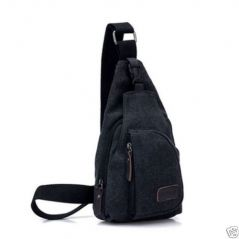 Aeoss New Fashion Shoulder Canvas Bags Men Sport Casual Bag Outdoors Hiking Travel Bag