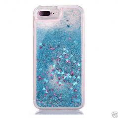 Aeoss iPhone 7 Hard Case Liquid Floating Luxury Bling Glitter 7 Plus
