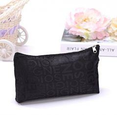 Aeoss  Portable Cute Multifunction Zipper Travel Cosmetic Pencil Pouch Portable Storage Bag Letter Makeup Case