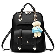 Aeoss Women'S Fashion Style Korean New Spring And Summer Backpack (Black)
