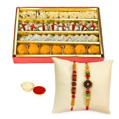 Haldiram Tasty Assorted Sweets N Rakhi