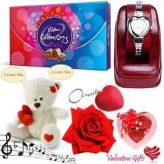 Valentine Gifts   Gift Hampers - Valentine Gifts - Breathtaking Love Combo